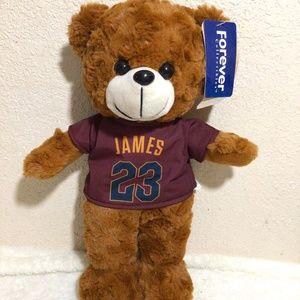 "Lebron James Plush Bear 14"""